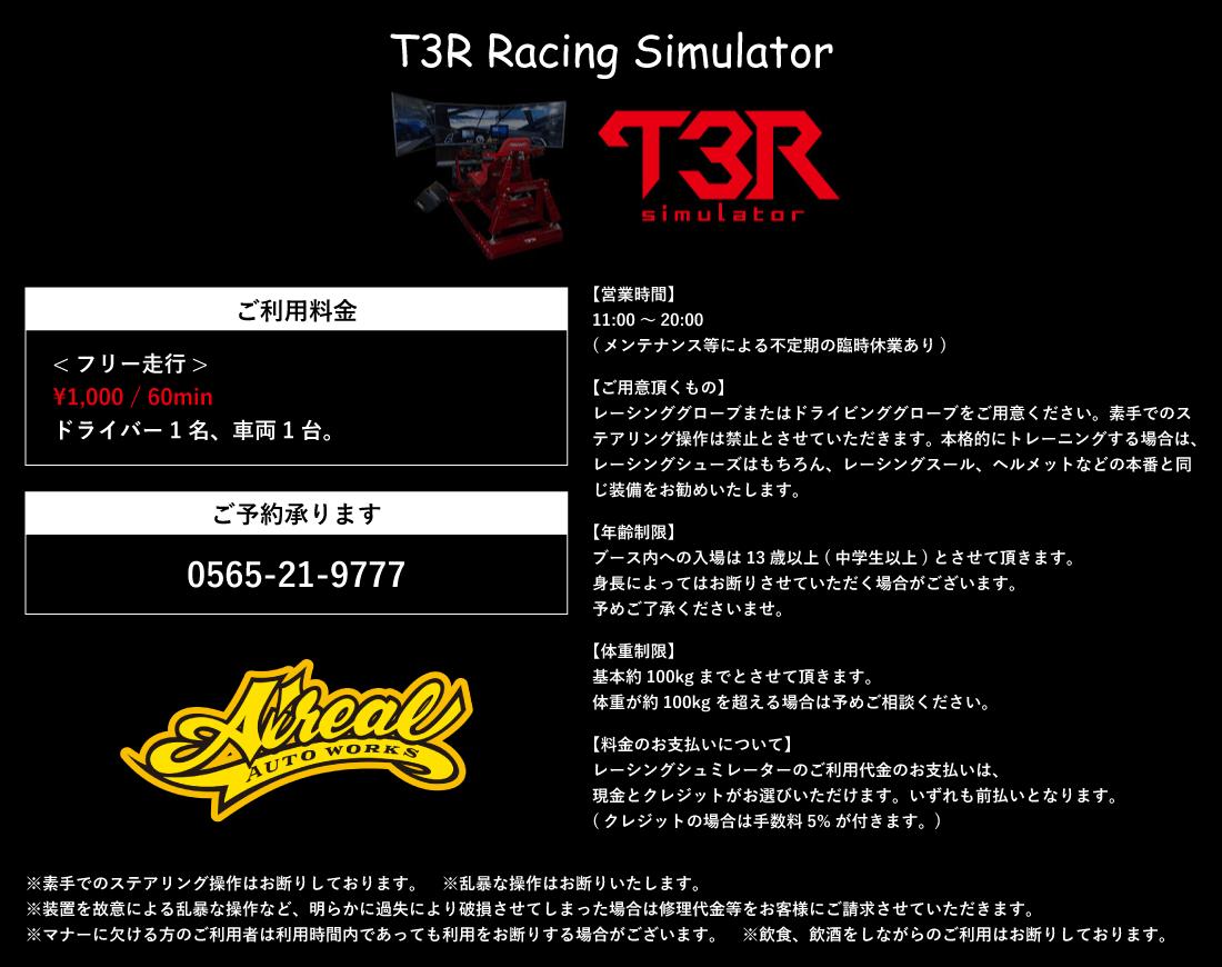 T3R Racing Simulator